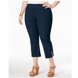 NWT Jm Collection Plus Size Capri Pants NEW 2X